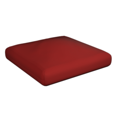 Puffy seat cushion
